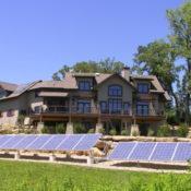 Front Yard Solar Panels