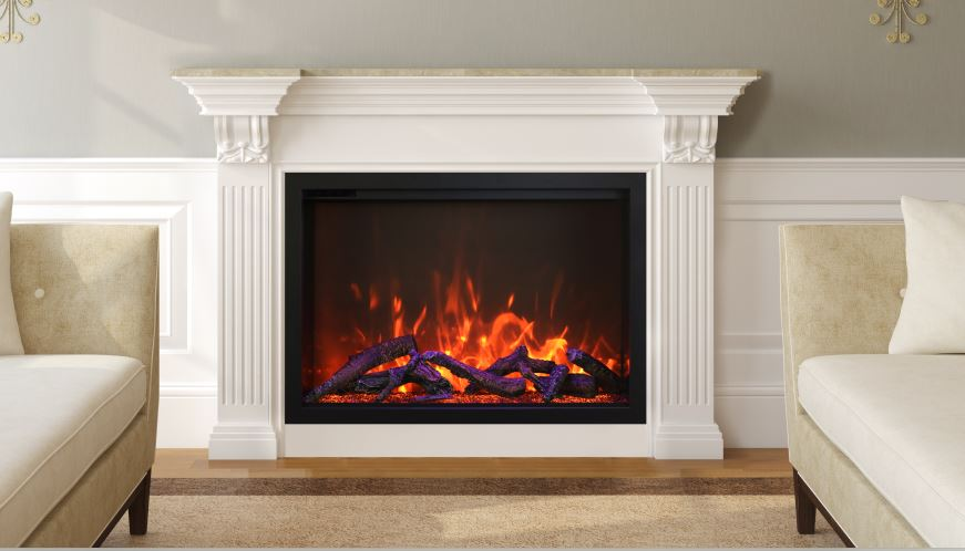 Traditional Electric Fireplace