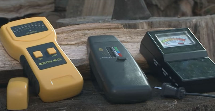 How to Test Your Firewood with a Moisture Meter